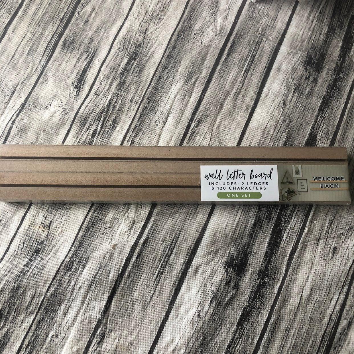 Reserved 3 Target Wood Letter Boards