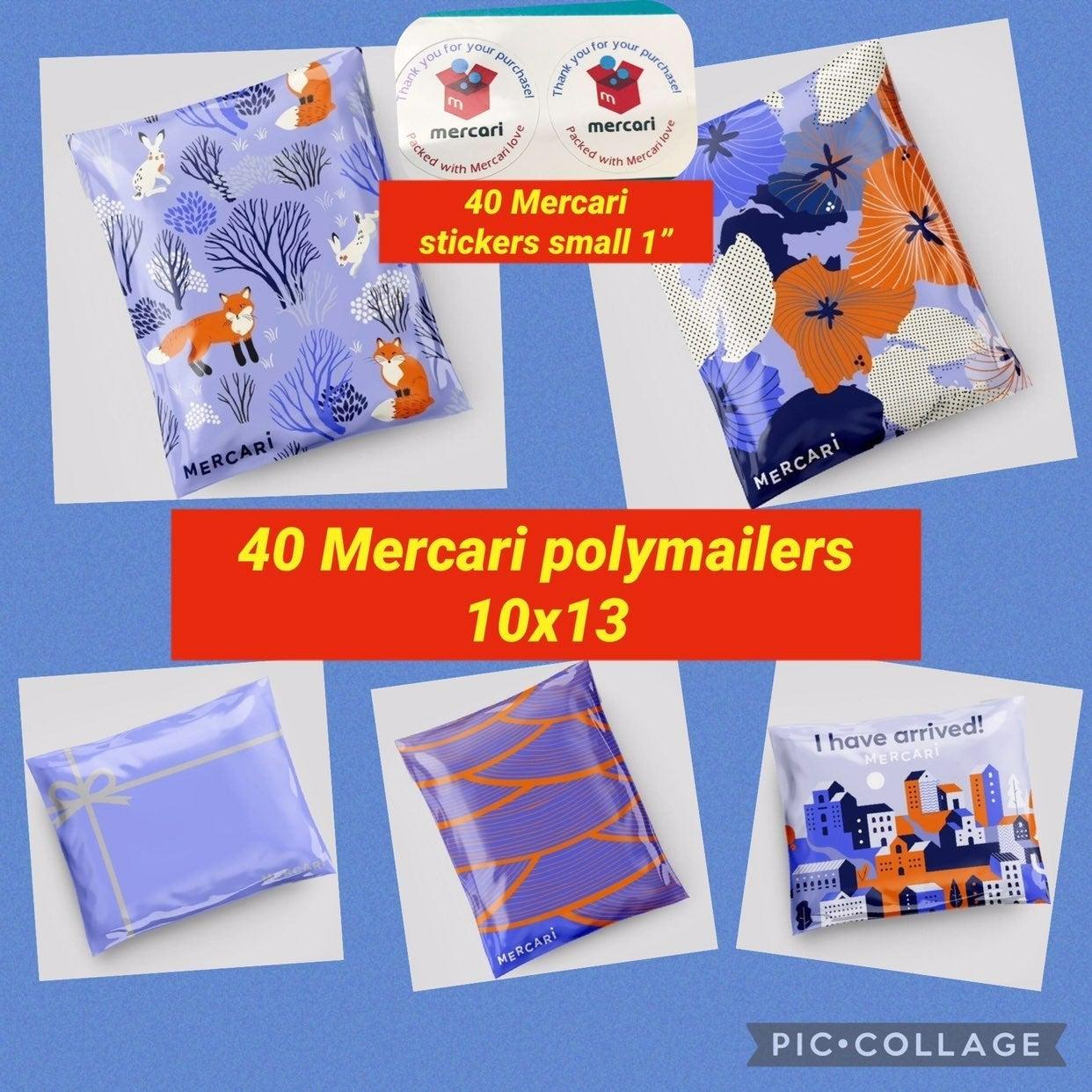 40 mixed mercari polymailers 10x13
