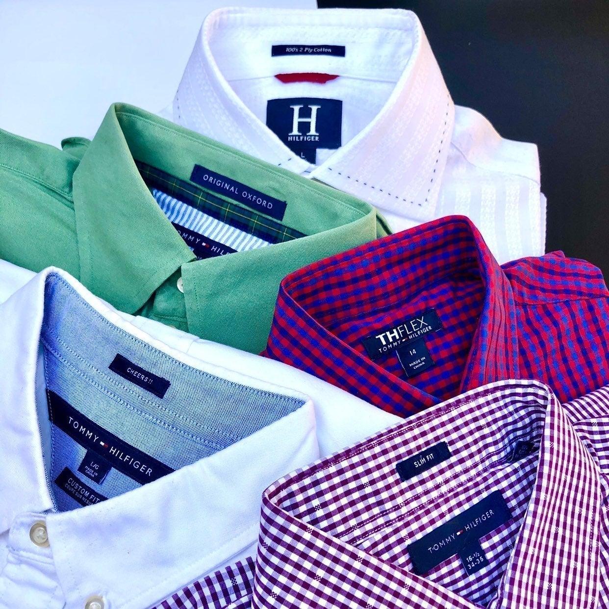 Tommy Hilfiger Shirt Lot