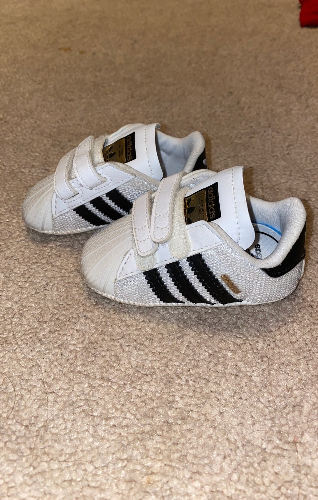 Adidas baby shoes size 2