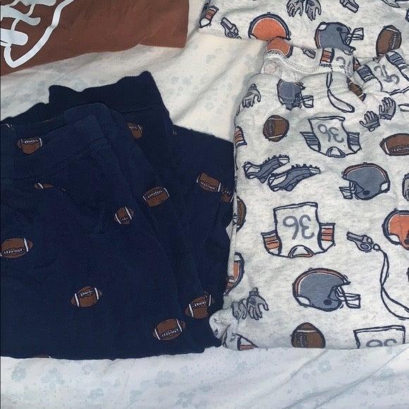 Carters Boy Sports pajamas 14