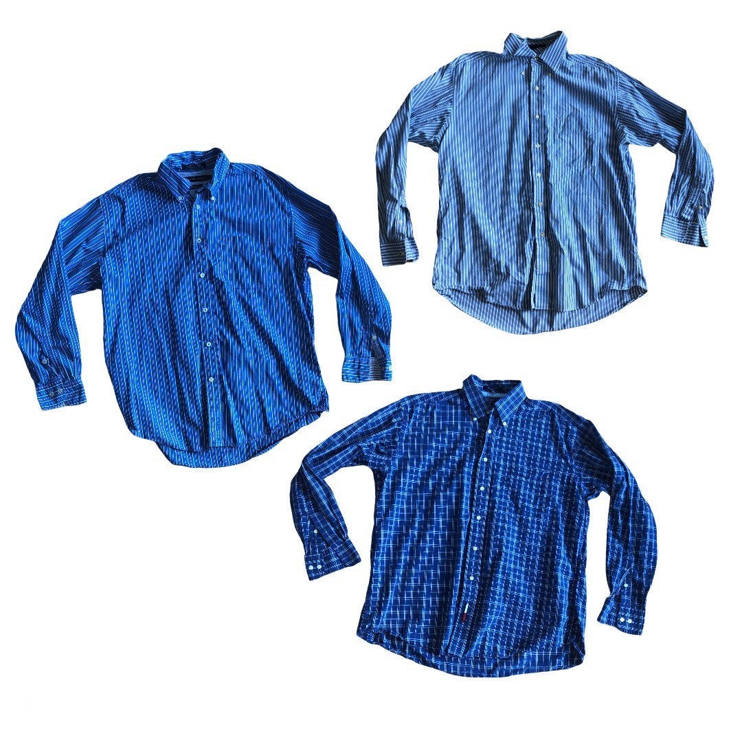 3 Tommy Hillfiger Button Down Shirts