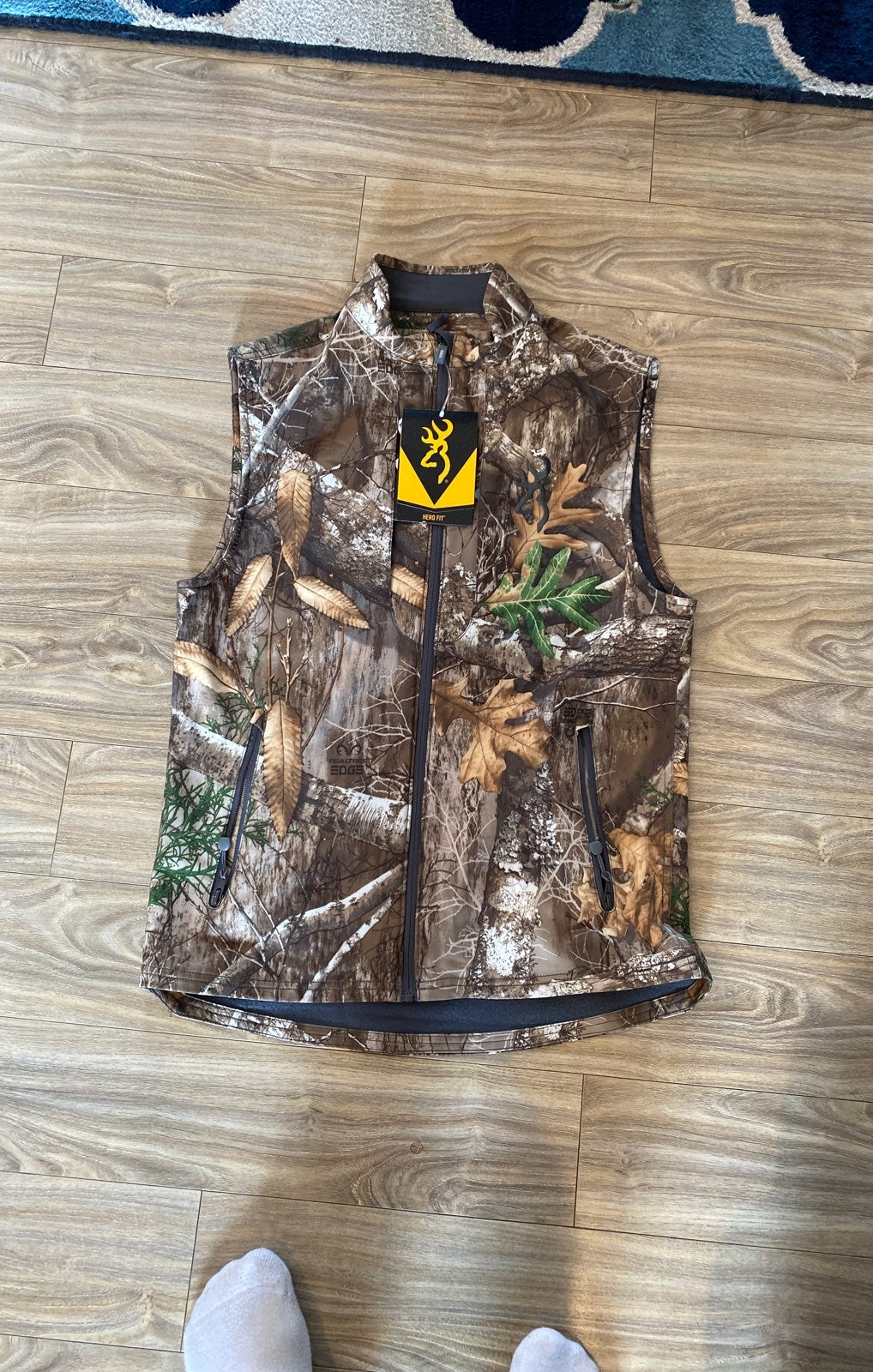 Browning realtree edge vest