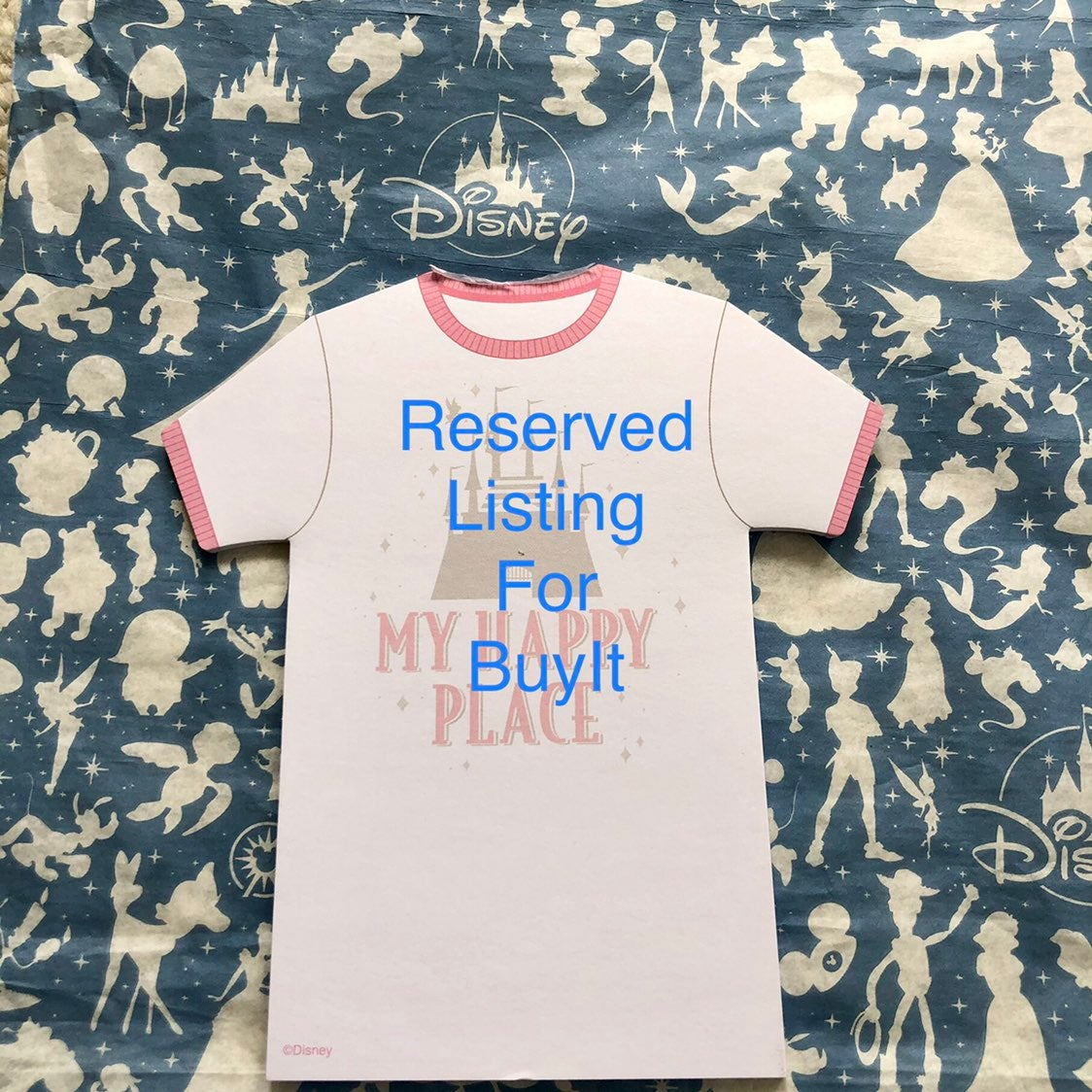 Reserved Listing for Buyit