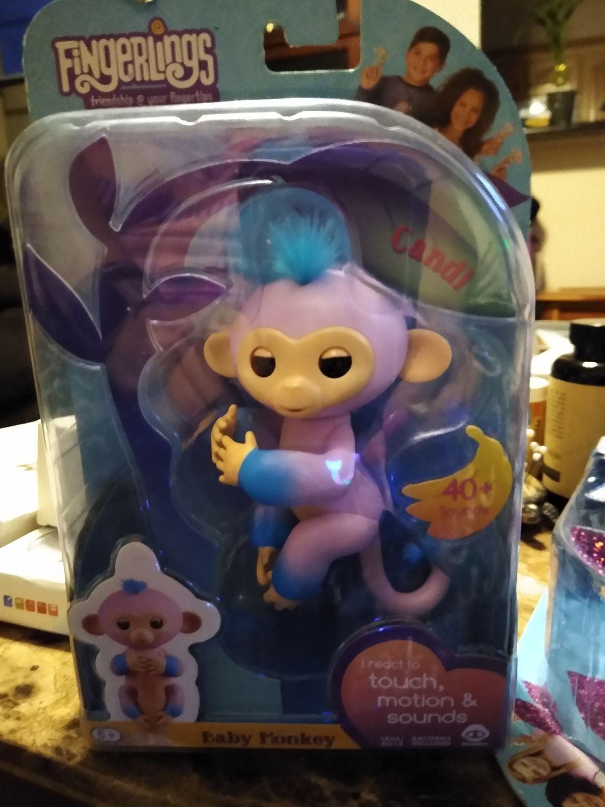 """Fingerlings Baby Monkey,  """"Candi"""""""