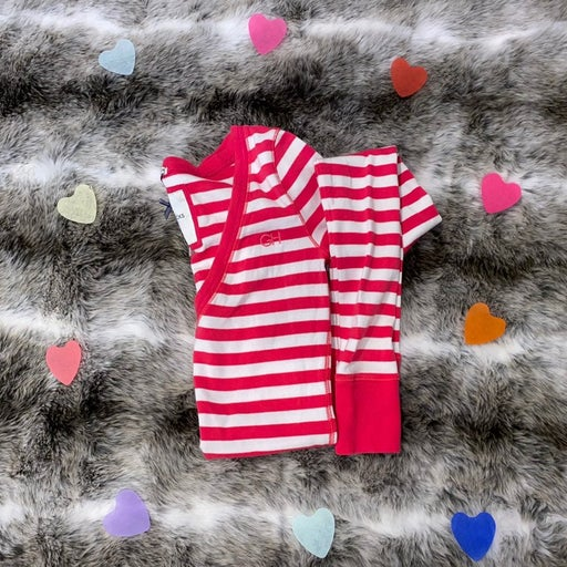 Pink and White Striped Gilly Hicks Top