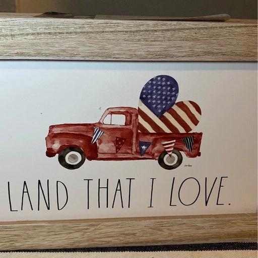 Rae Dunn farm house wood sign