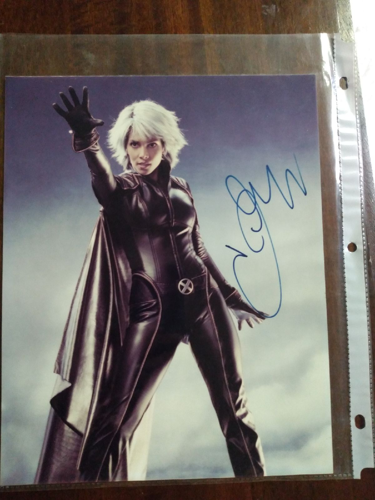 Halle Berry As Storm Signed Autograph ph