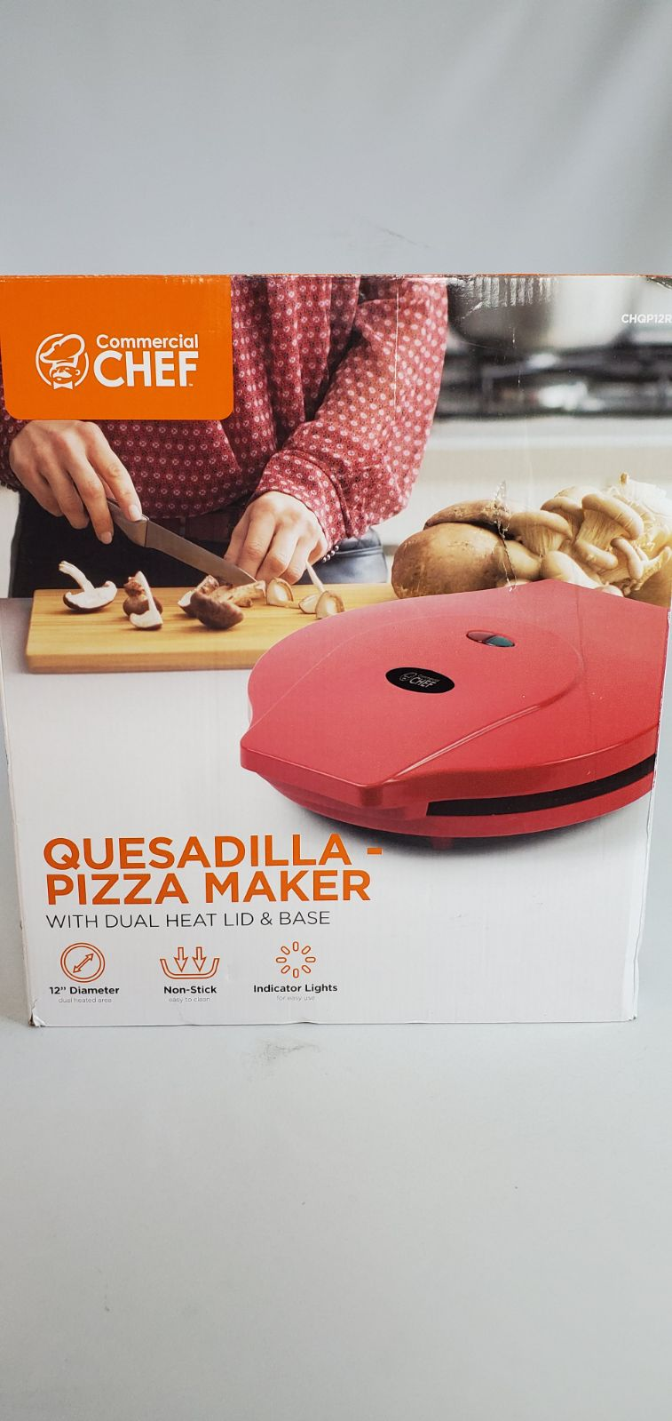 Quesadilla and Pizza Maker