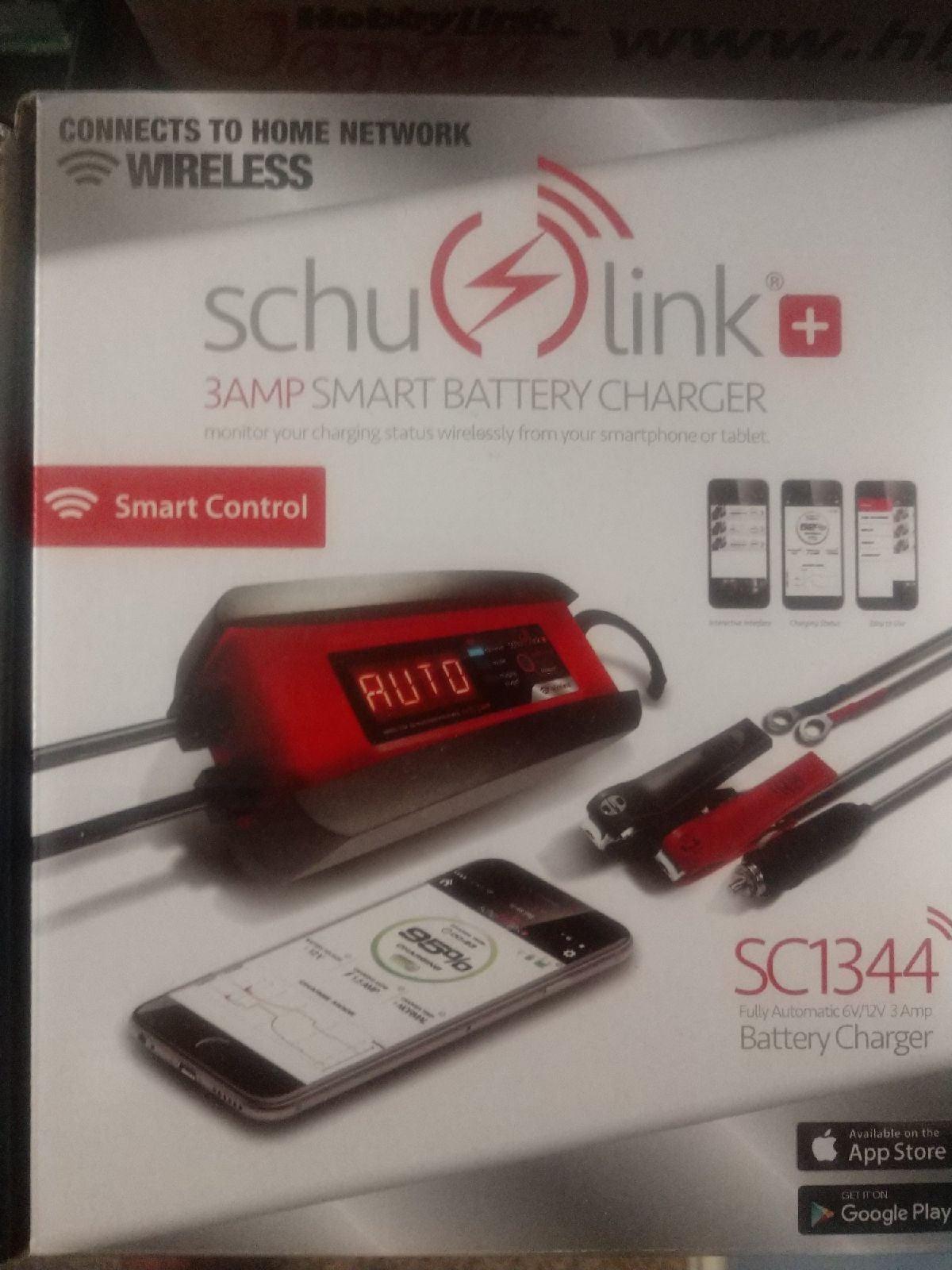 Schumacher smart battery charger - car