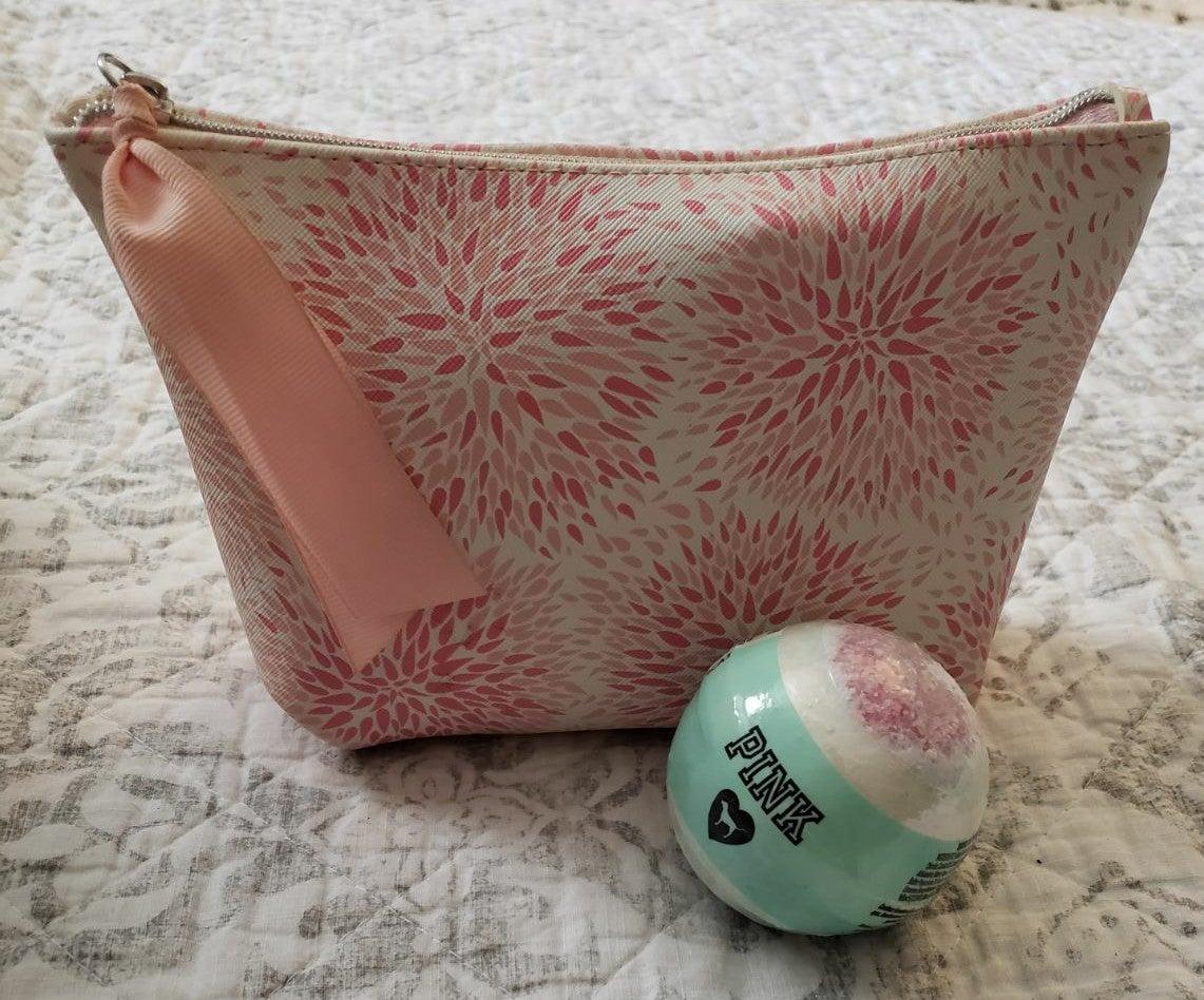 Makeup Bag + 22 Cosmetic Items