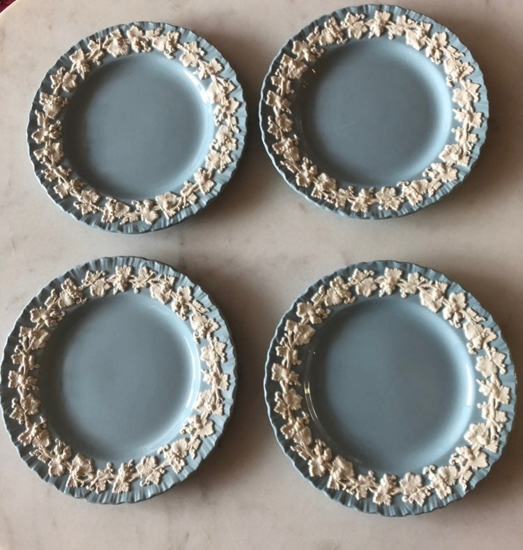 Vintage Wedgwood Queensware Bread Plates
