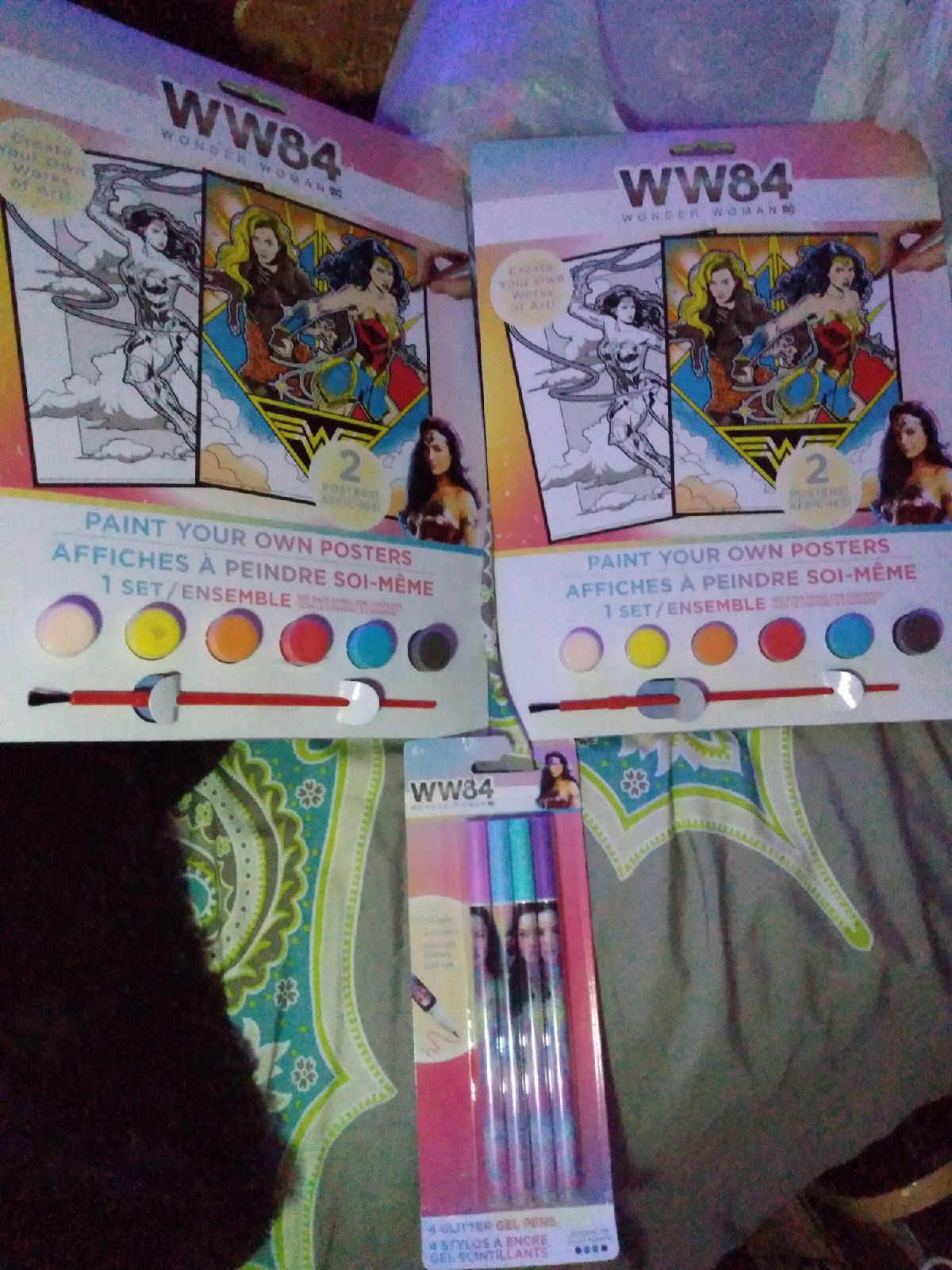 WW84 Wonder Woman Paint your Own Posters