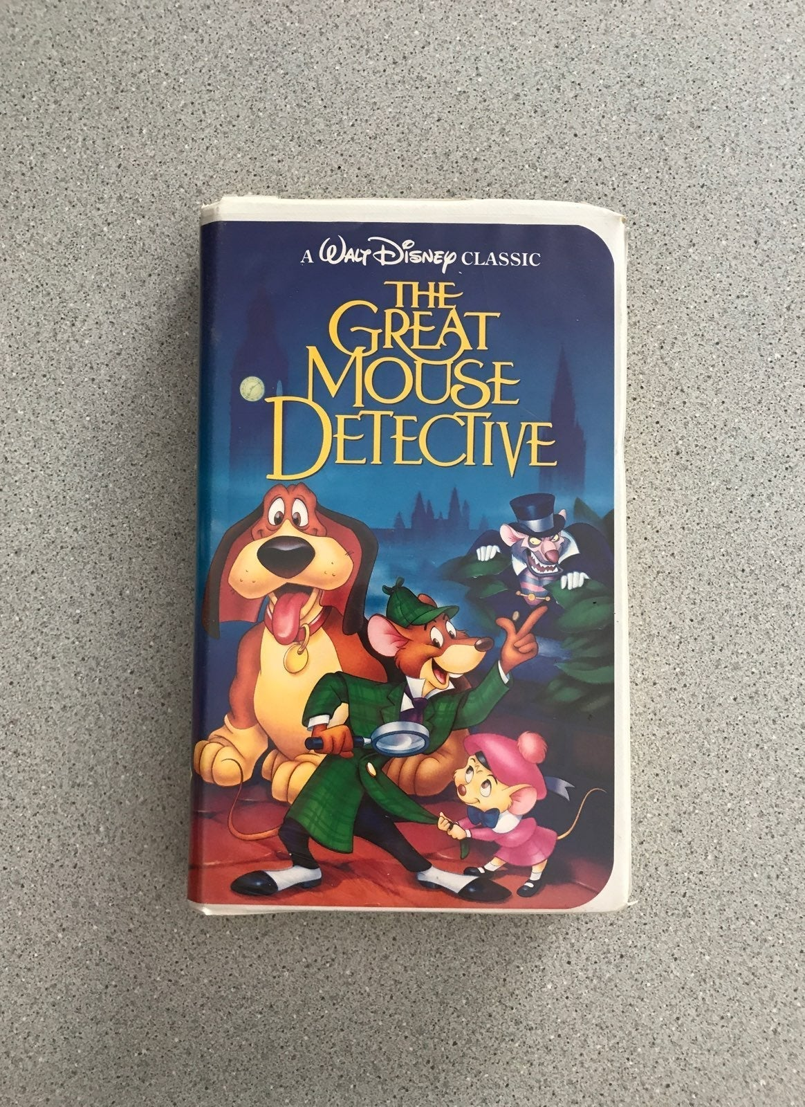 The Great Mouse Detective VHS