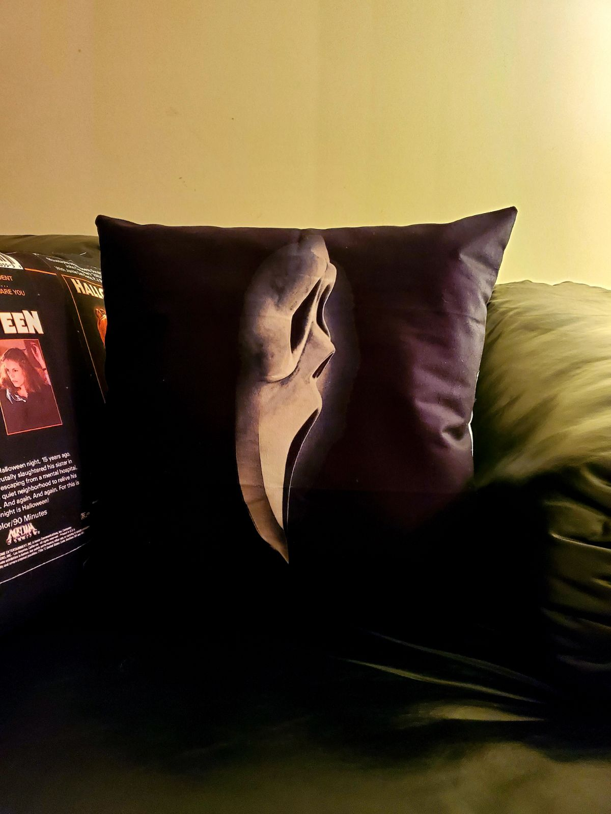 Scream Horror 18x18 Pillowcase New