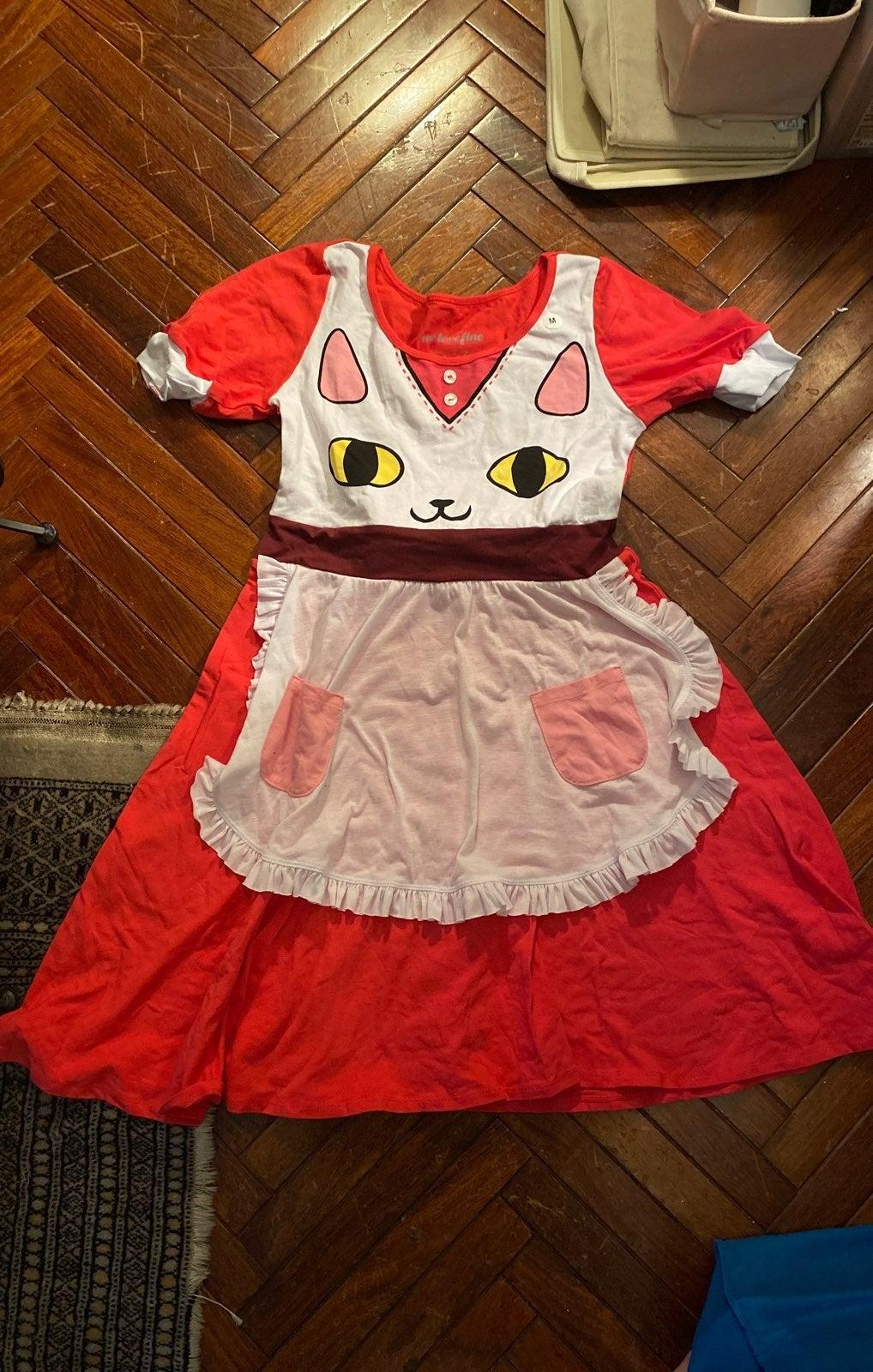 We Love Fine Bee & Puppycat Dress! M
