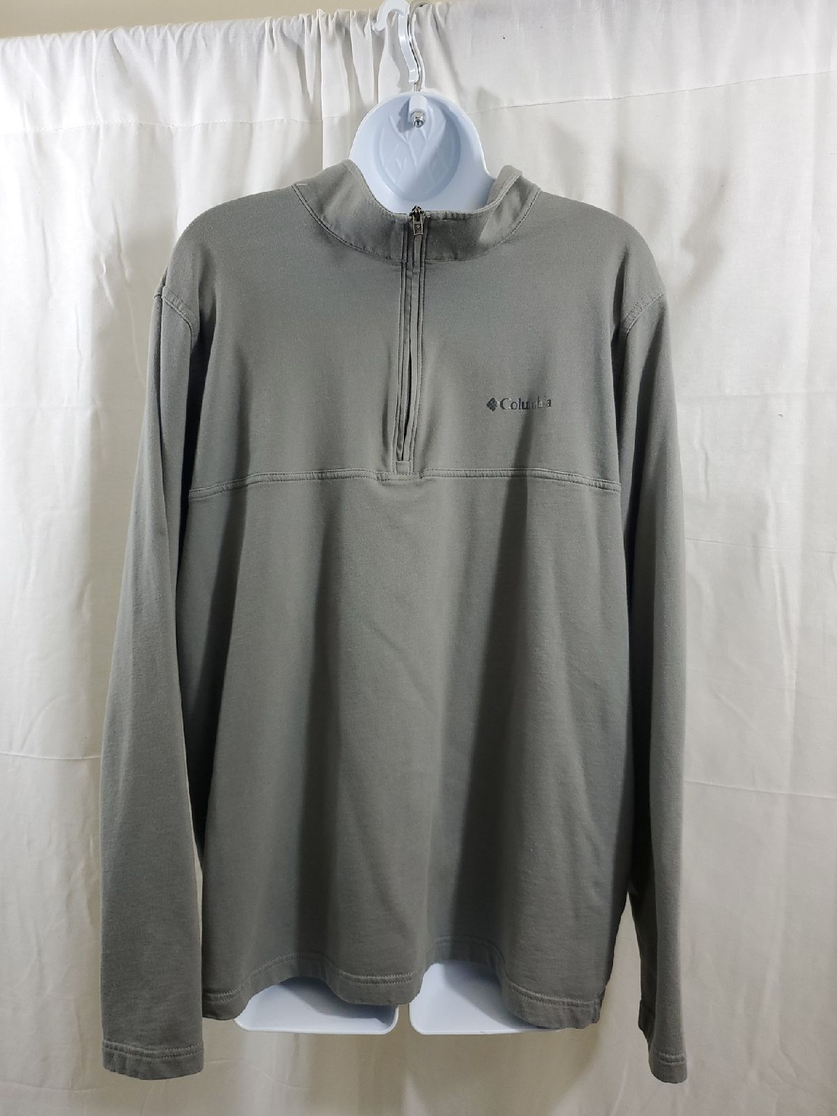 Columbia MEN'S half zip sweatshirt Sz XL