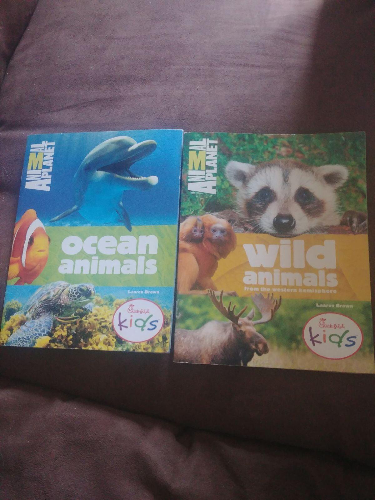 Animal Planet kids books