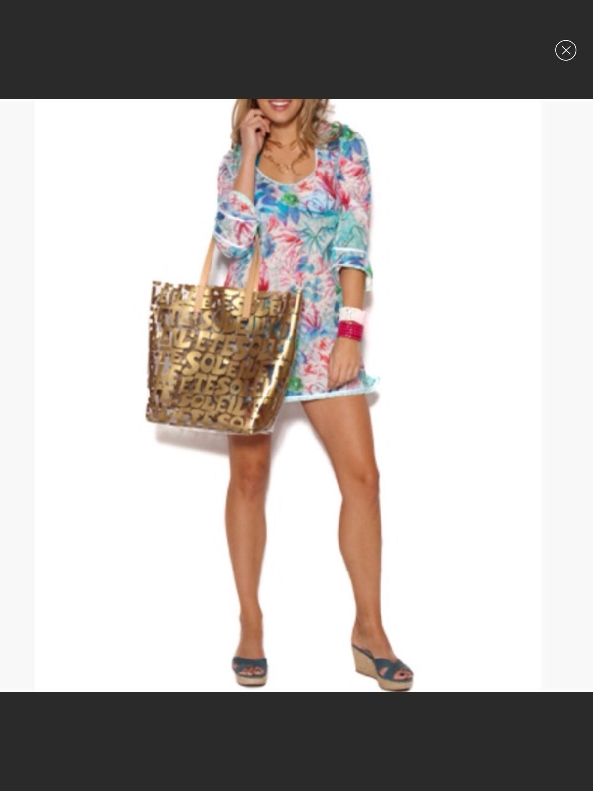 Beach Coverup. Tunic. NWT Extra Small.