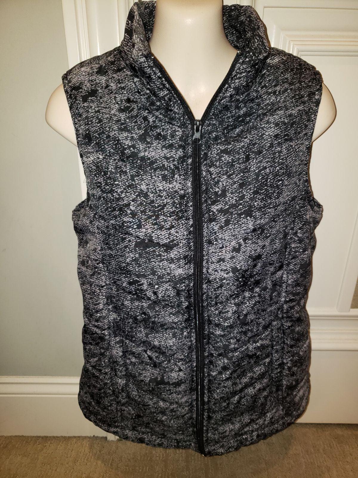 LAURA SCOTT Women's Zip Up Jacket Vest