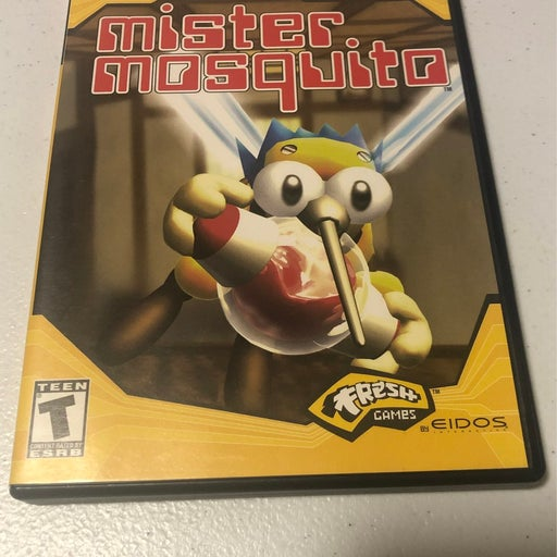 Mister Mosquito on Playstation 2