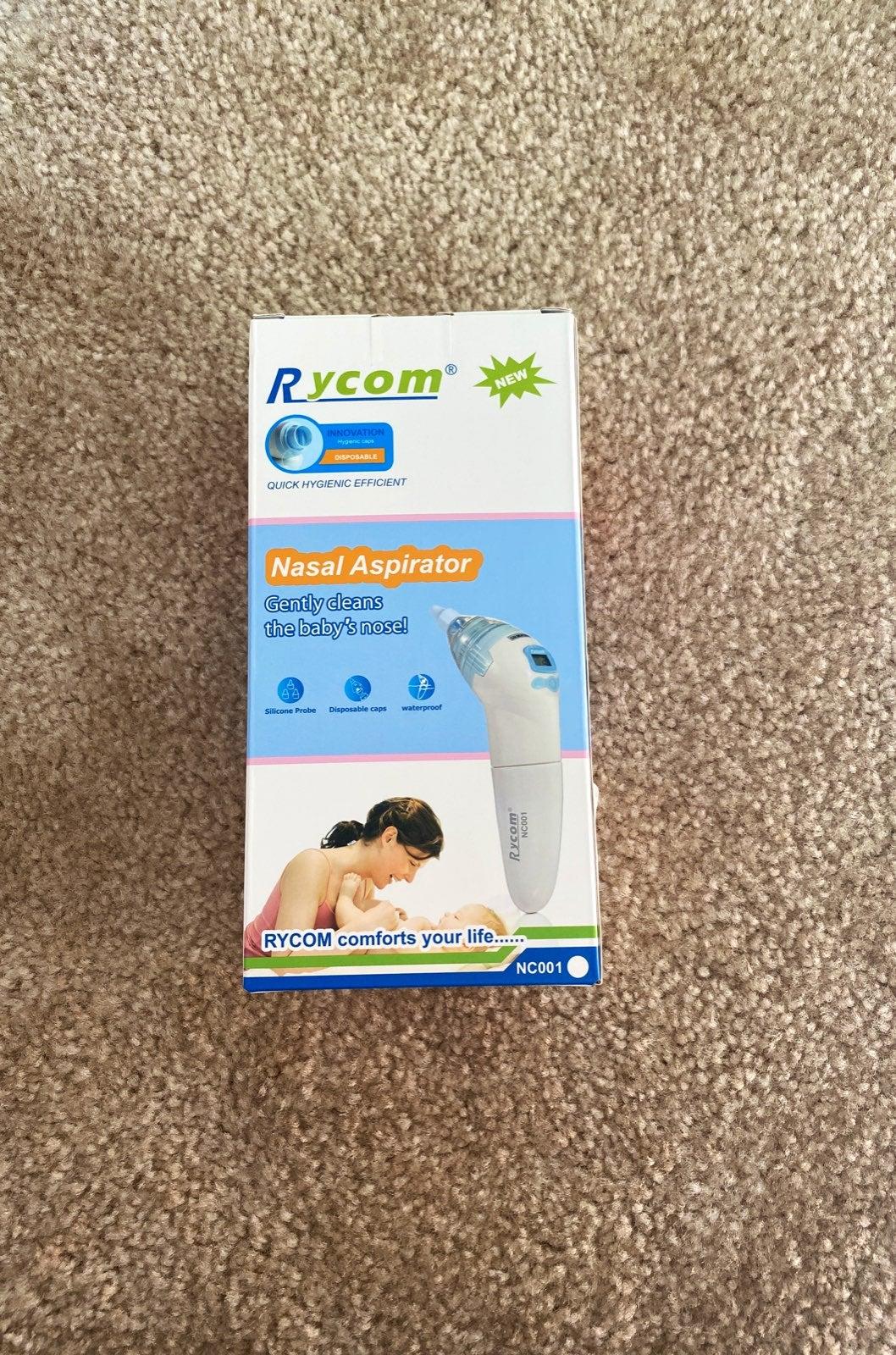 Electric nasal aspirator