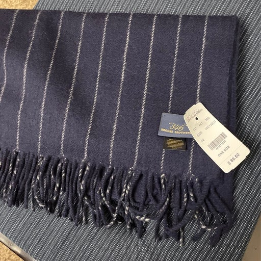 Brooks Brothers Wool Scarf NEW