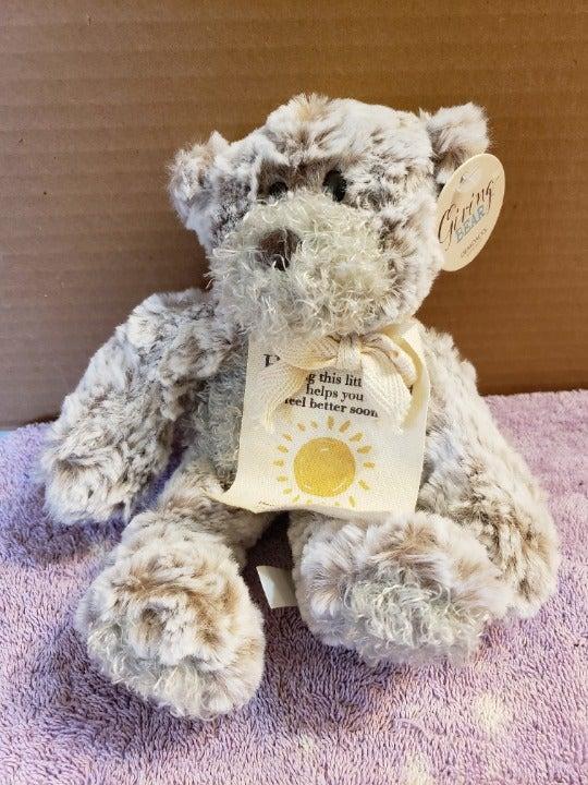 NEW Demdaco Giving Teddy Bear Plush