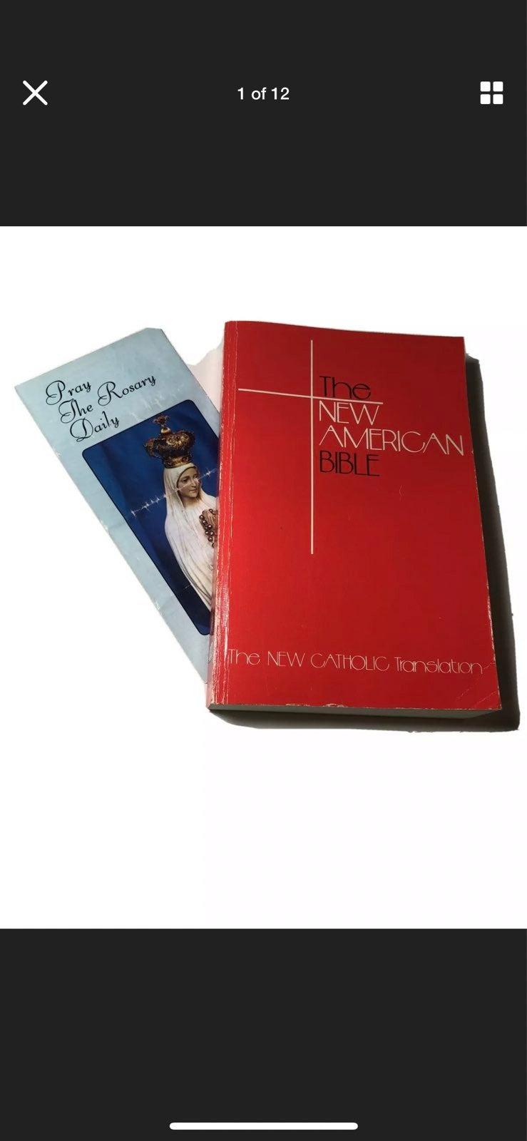 The New American Bible Catholic Translat