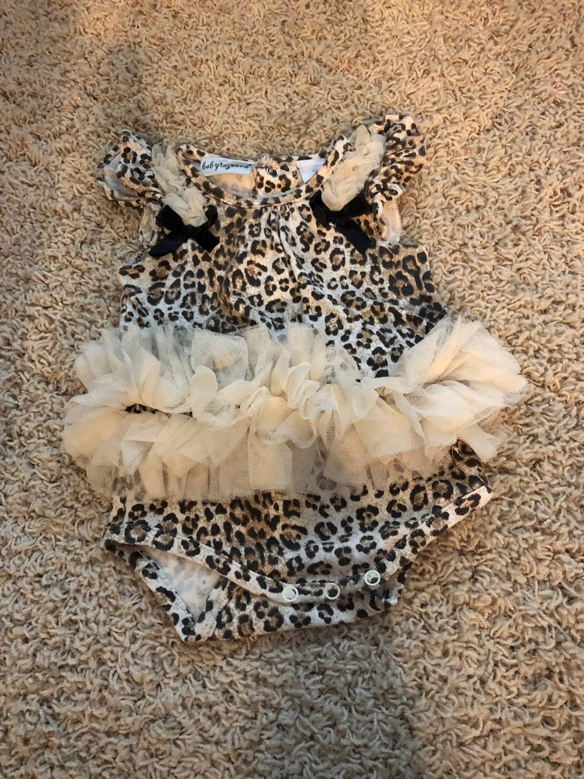 Lil Threads: Leopard Tutu & Ice Cream