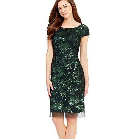 Antonio Melani Sequined Sheath Dress