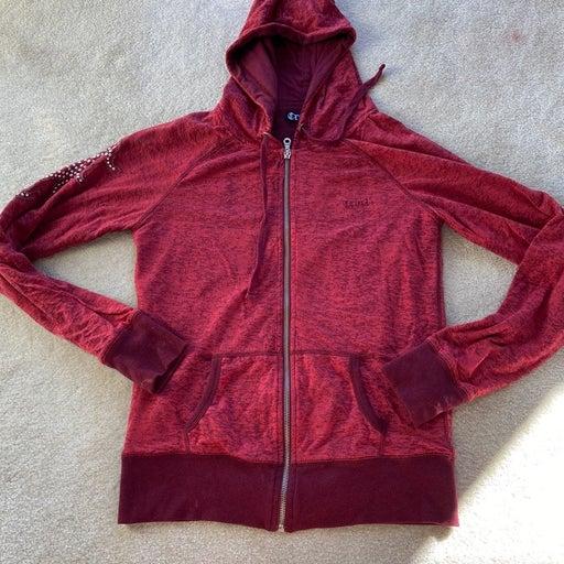 Womens zip up hoodie M