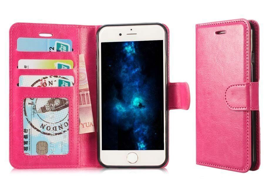 iPhone 12 Case Wallet Pink NEW