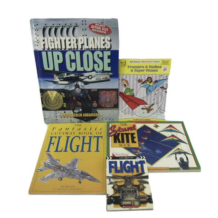 5 Non-fiction Kids Books - Airplanes