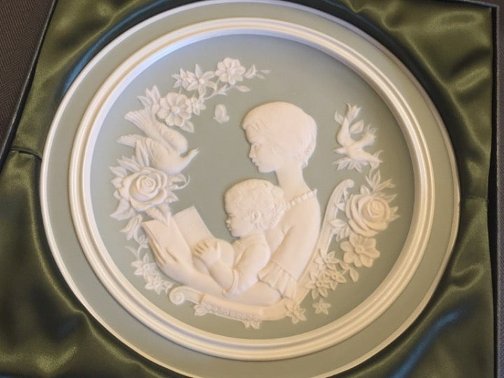 Franklin Mint Mother's Day Plate