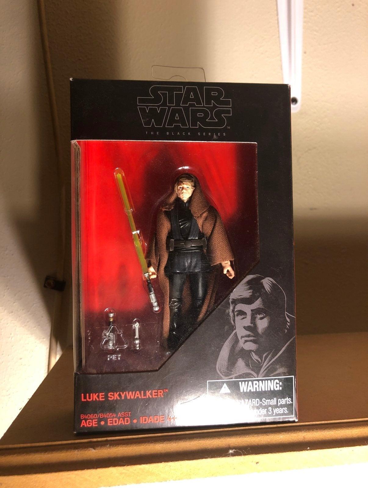 Star wars jedi luke skywalker 3.75 inch