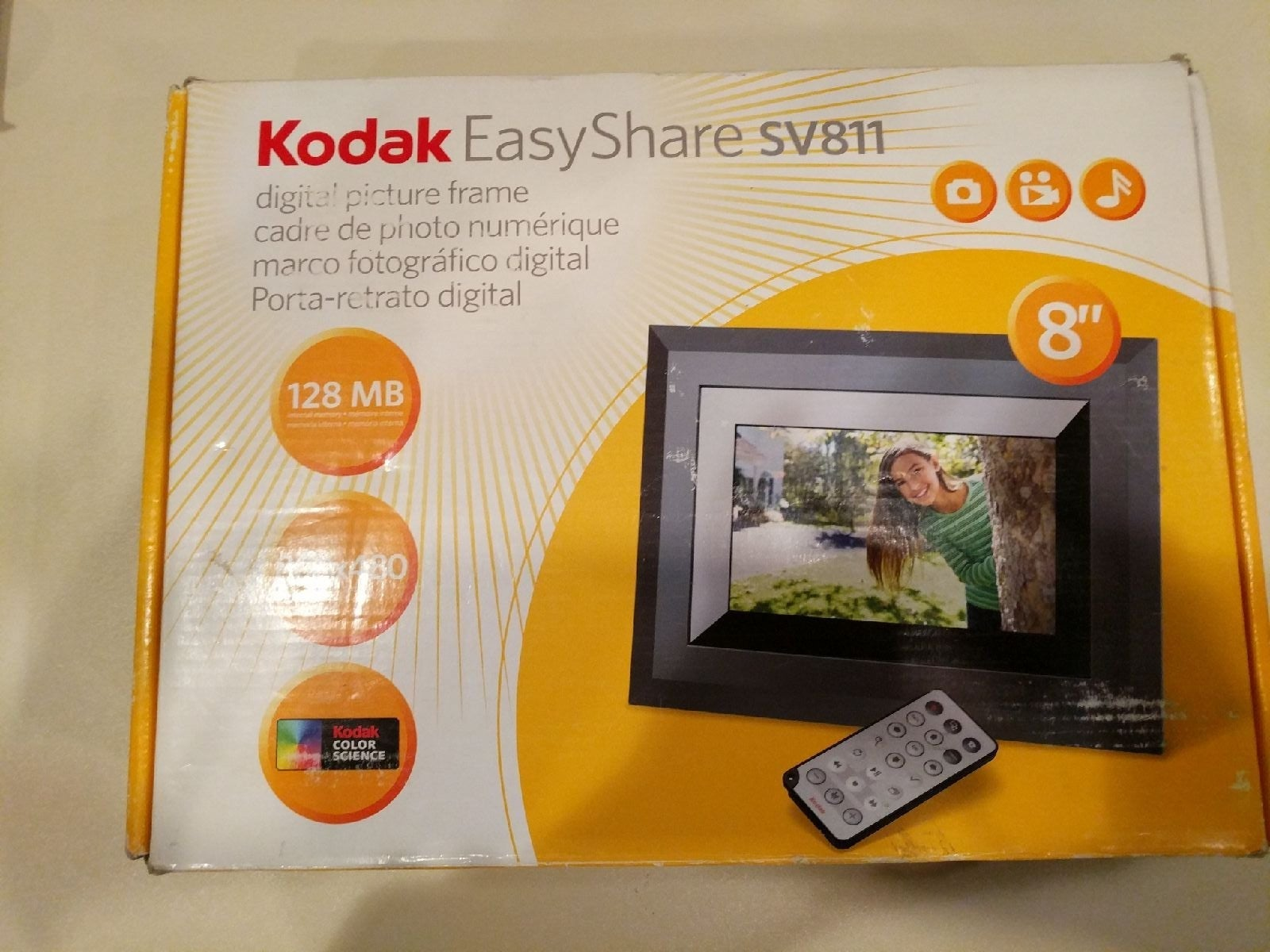 Kodak Digital Photo Frame,SV811