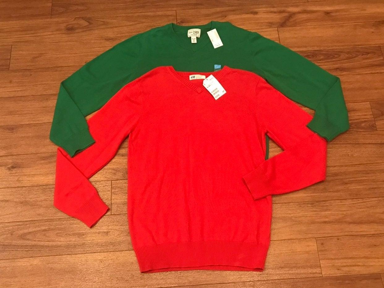 Boys V - Neck Sweaters