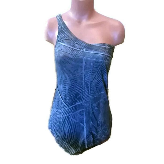 One Shoulder Anama Top Small