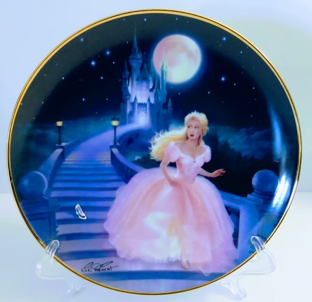 The Magic of Cinderella Porcelain Plate