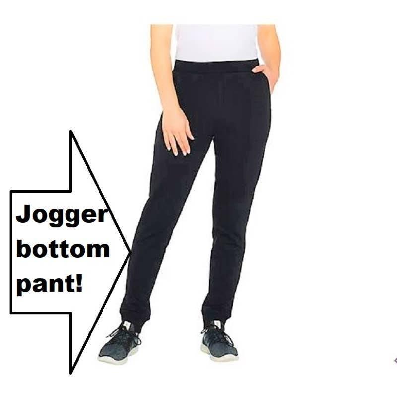 NEW QVC Denim & Co. Pull-On JOGGER PANT