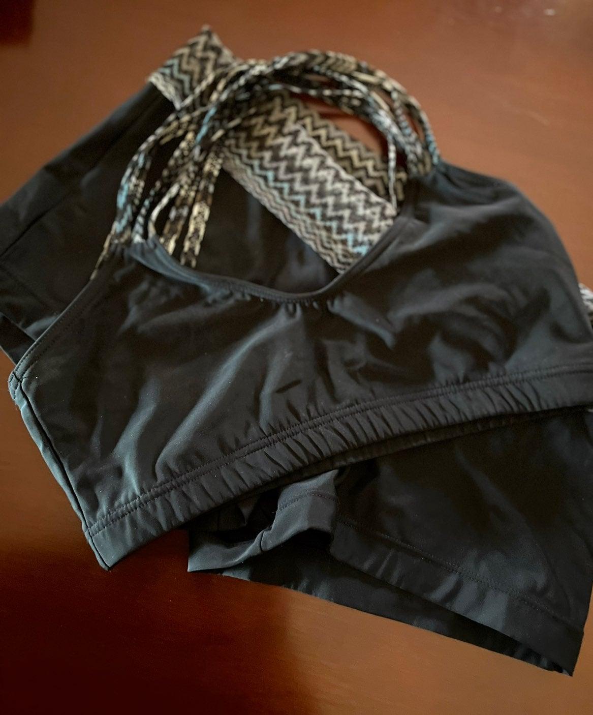 Capezio 2 pc Dance Outfit Top & Shorts