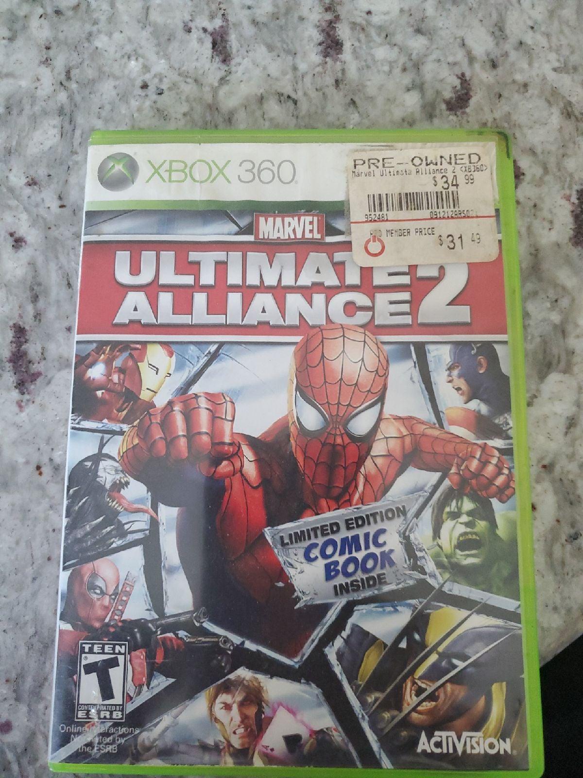 Ultimate Alliance 2 XBox 360