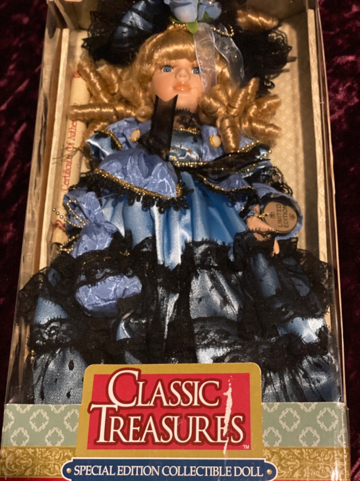 Classic treasures doll