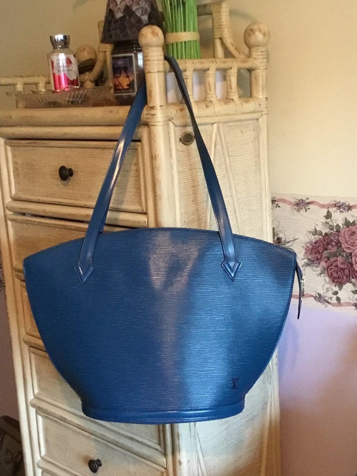 Louis Vuitton Saint jacques Toledo blue