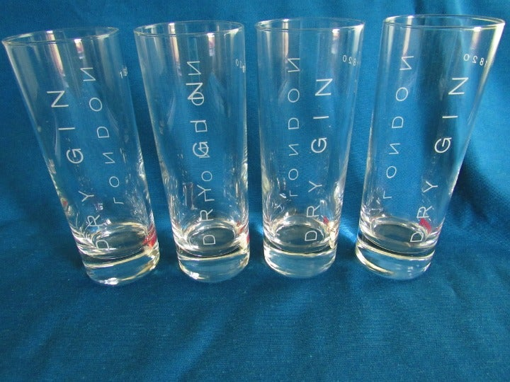 London Dry Beefeater Gin Glasses - 4