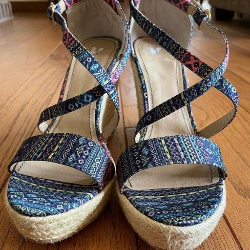 Size 10 BP 'Kacie' Wedge Sandal