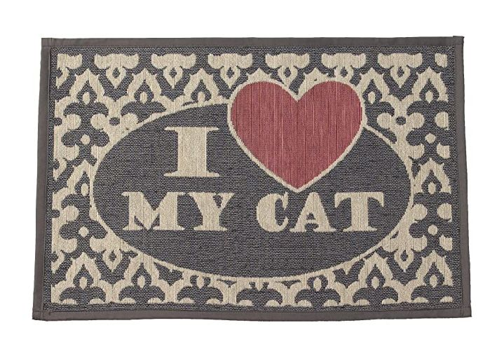 I love my cat tapestry mat