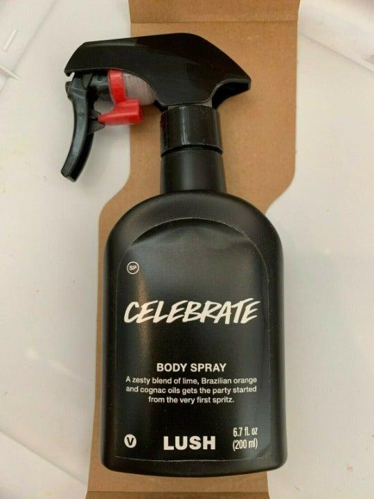 LUSH Celebrate Body Spray