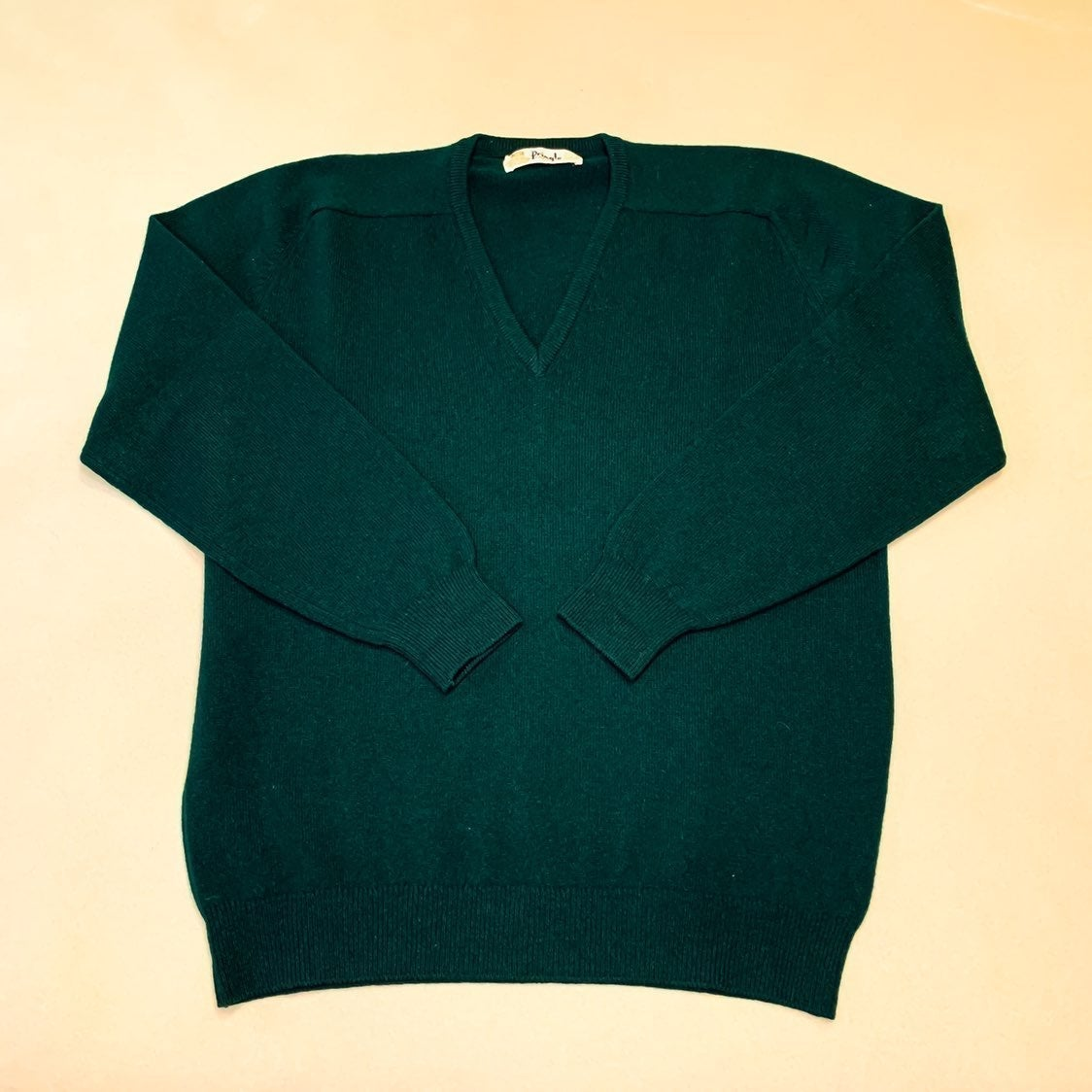 Vintage Pringle lambswool v-neck sweater